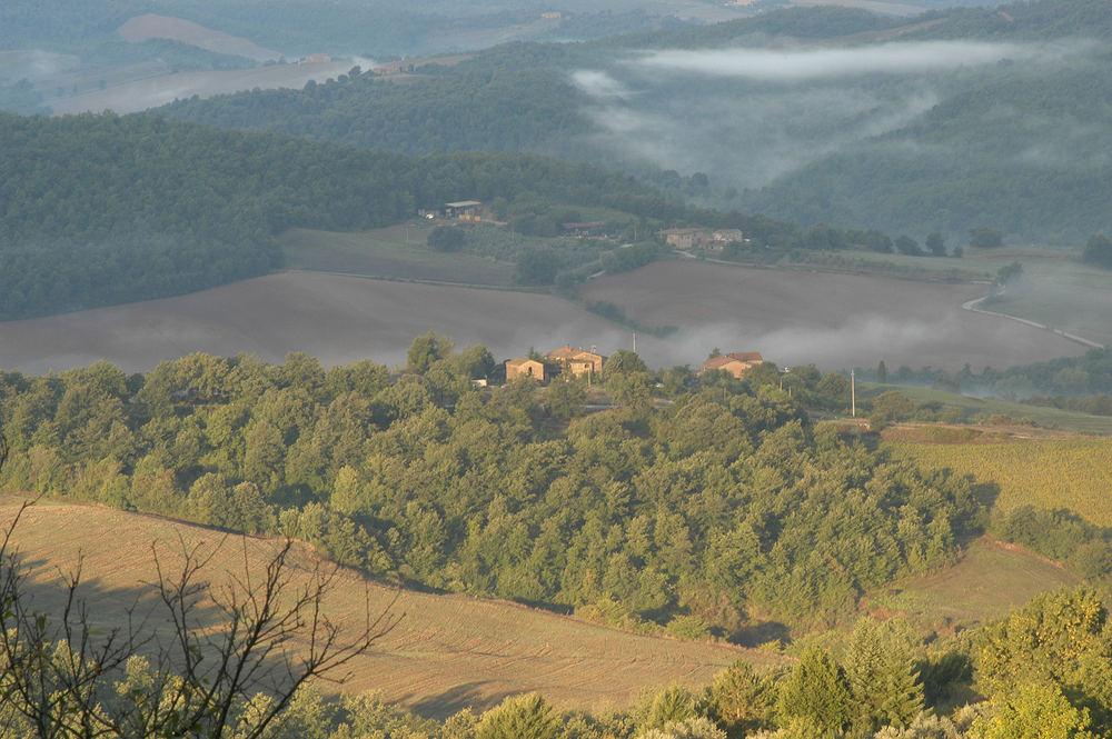Morgenstimmung in der Toskana