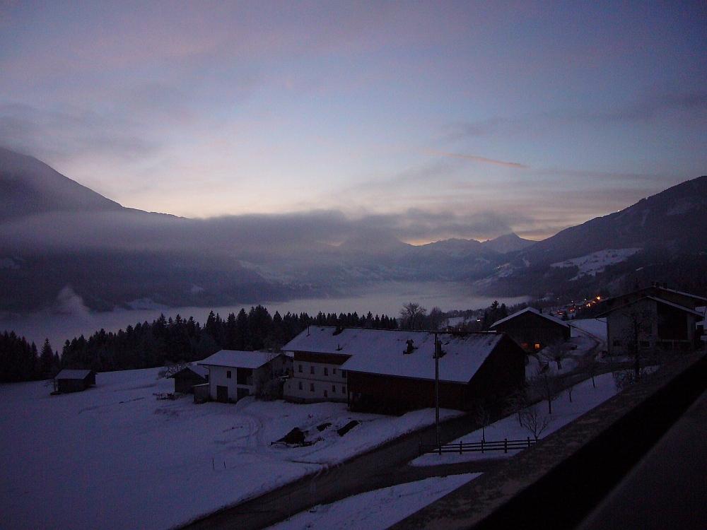 Morgenstimmung in Fügen Berg