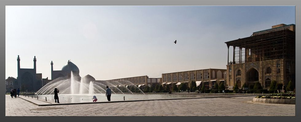 Morgenstimmung in Isfahan