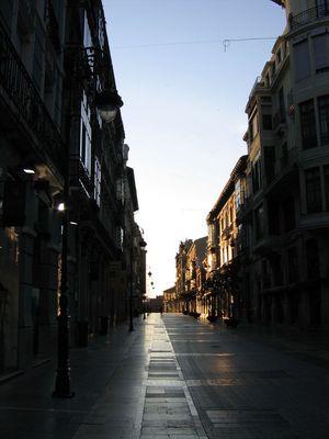 Morgenstimmung in Leon