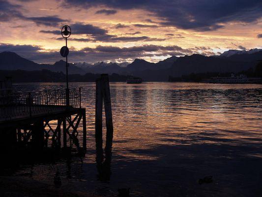 Morgenstimmung in Luzern