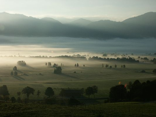 Morgenstimmung in Oberbayern