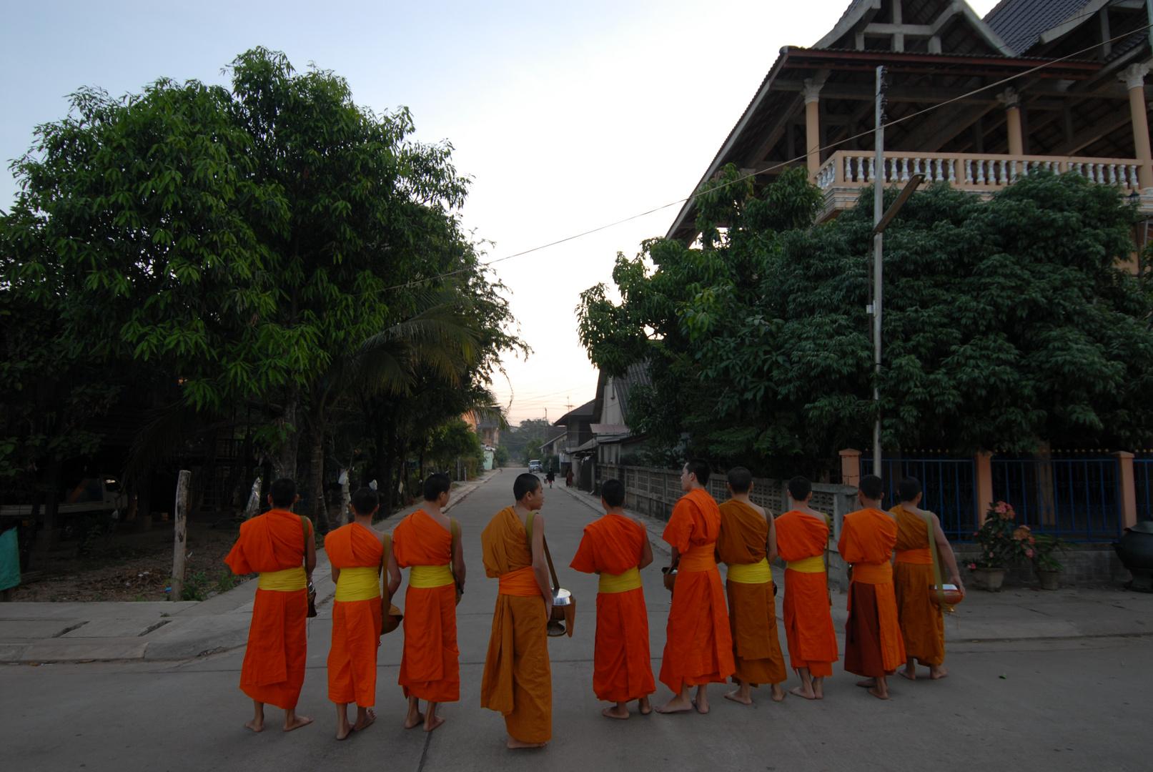 Morgenstimmung in Thakek