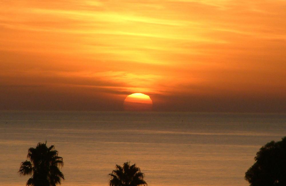 Morgenstimmung in Tunesien