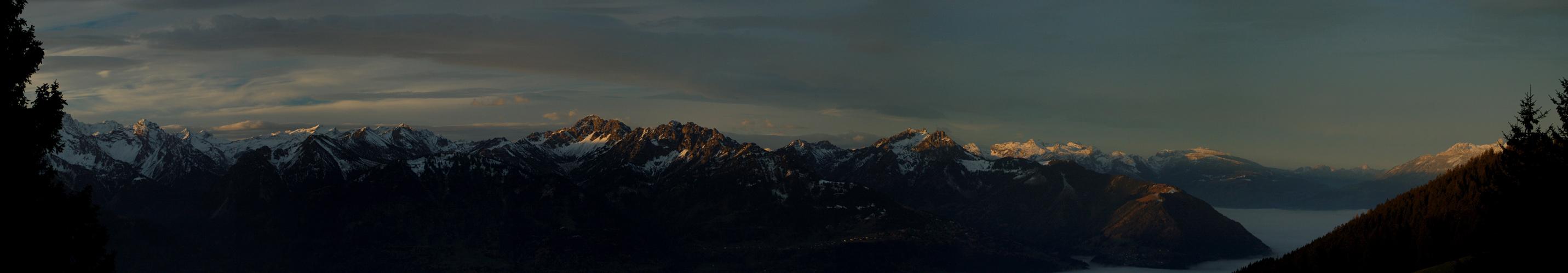Morgenstimmung in Vorarlberg