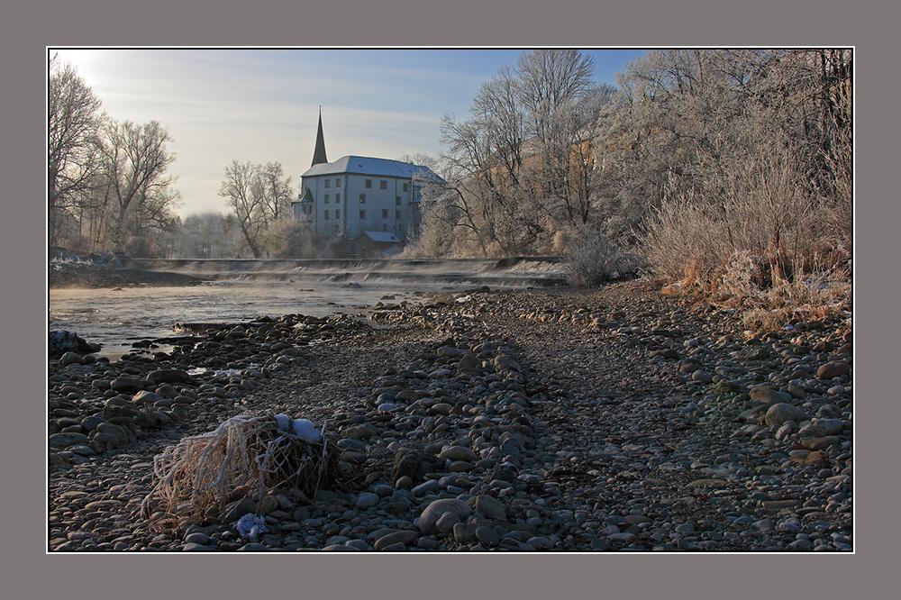 Morgenstimmung (Schloss Pertenstein)