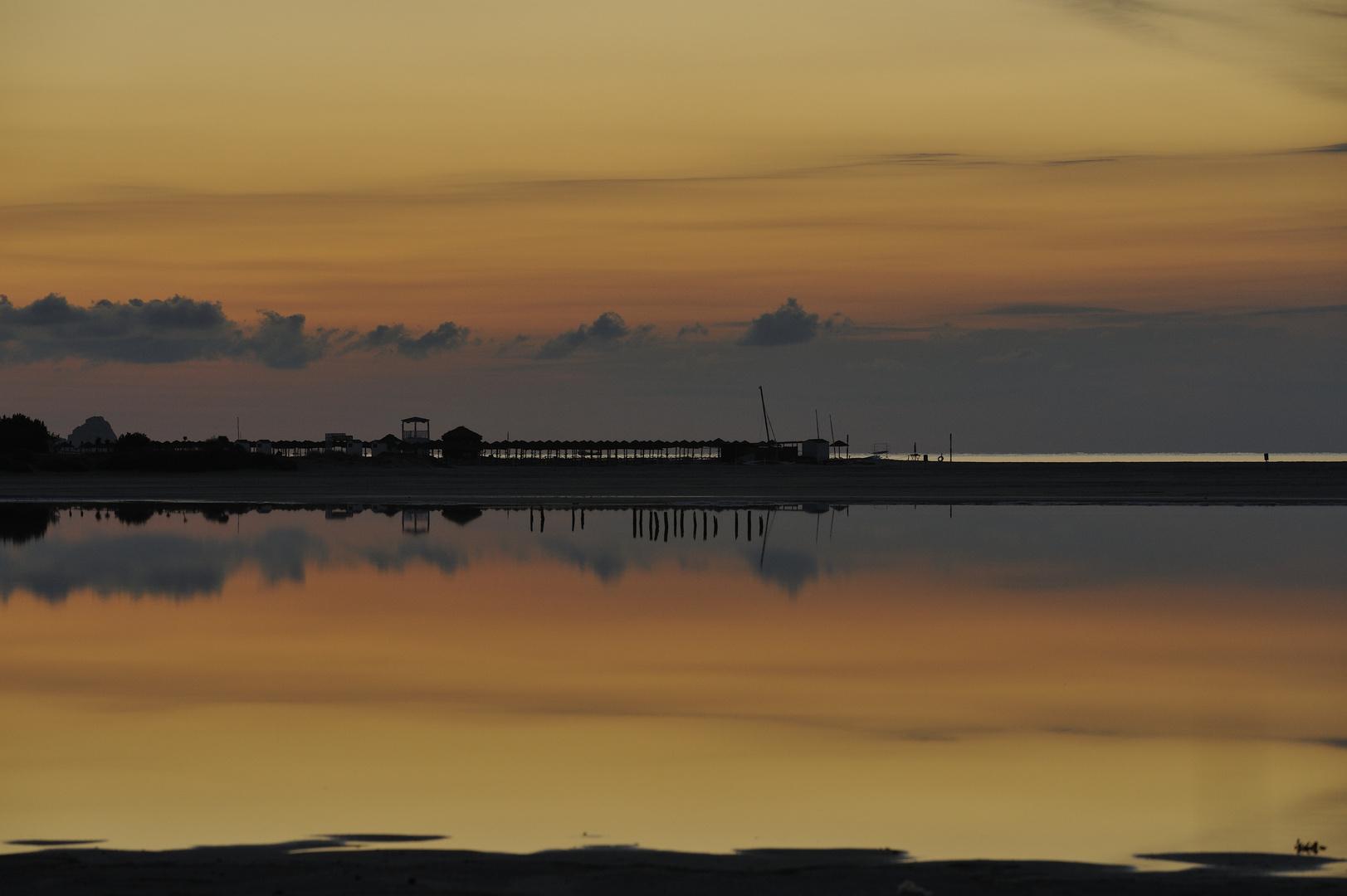 Morgenstimmung über der Lagune