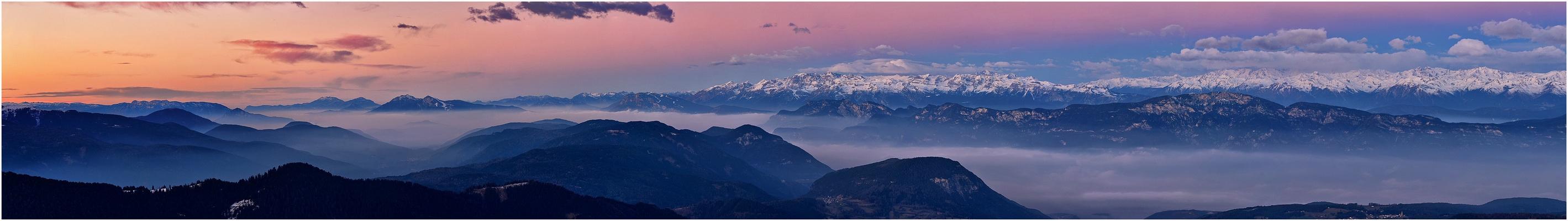 Morgenstimmungen in den Bergen
