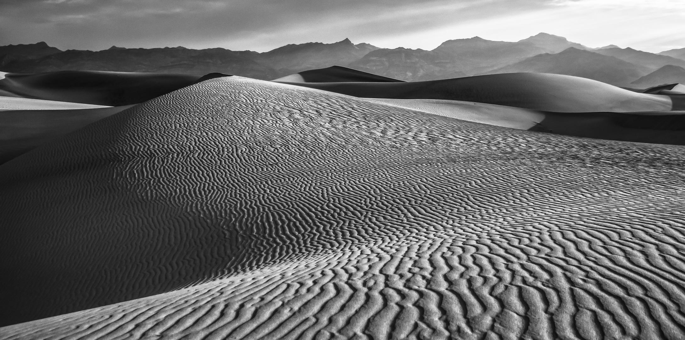 Morgenstund hat Sand im Mund