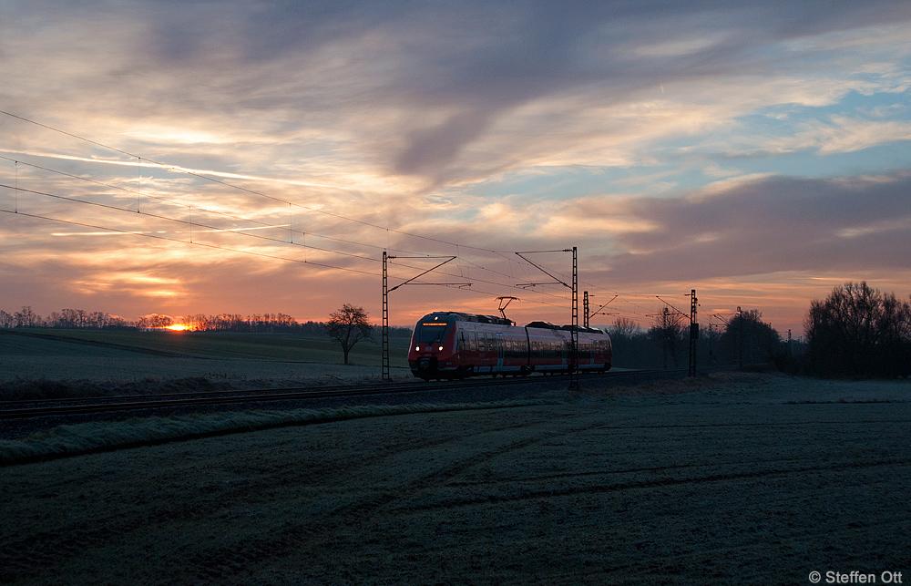 Morgenstund in der Wetterau