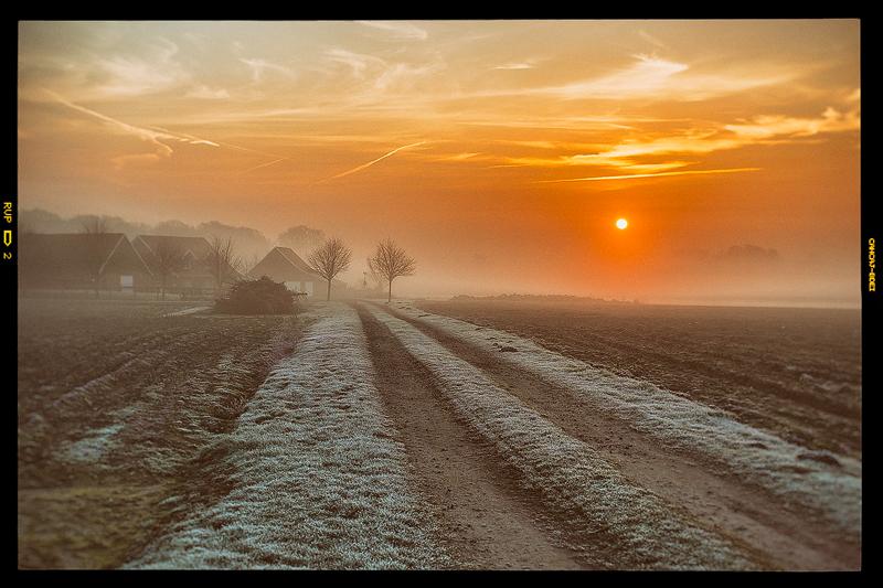 Morgenstund mit Nebel im Mund