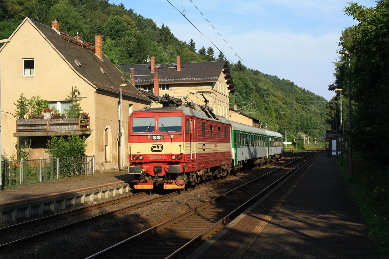 morgentlicher D-Zug