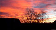 Morgentliches Himmelsfeuer...