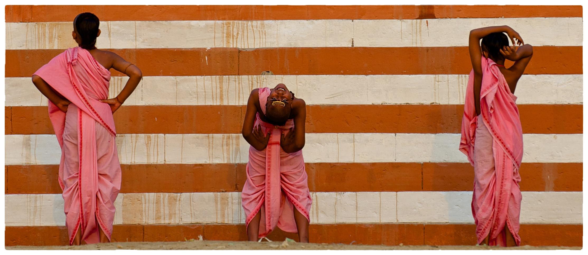 Morgenyoga am Ganges