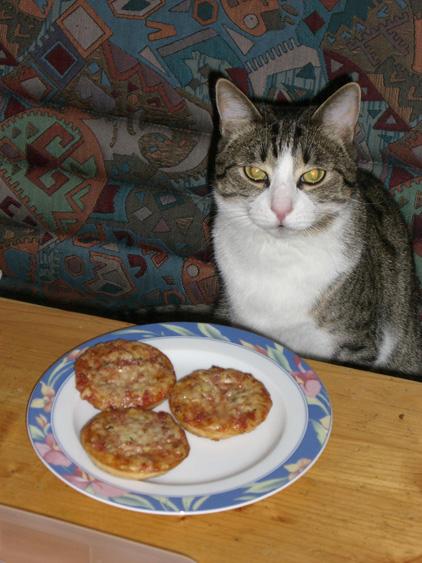 >>> Moritz mag Pizza