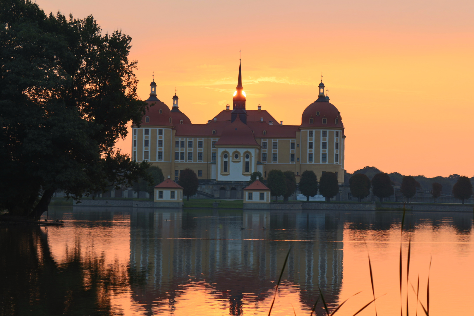 Moritzburg am Morgen