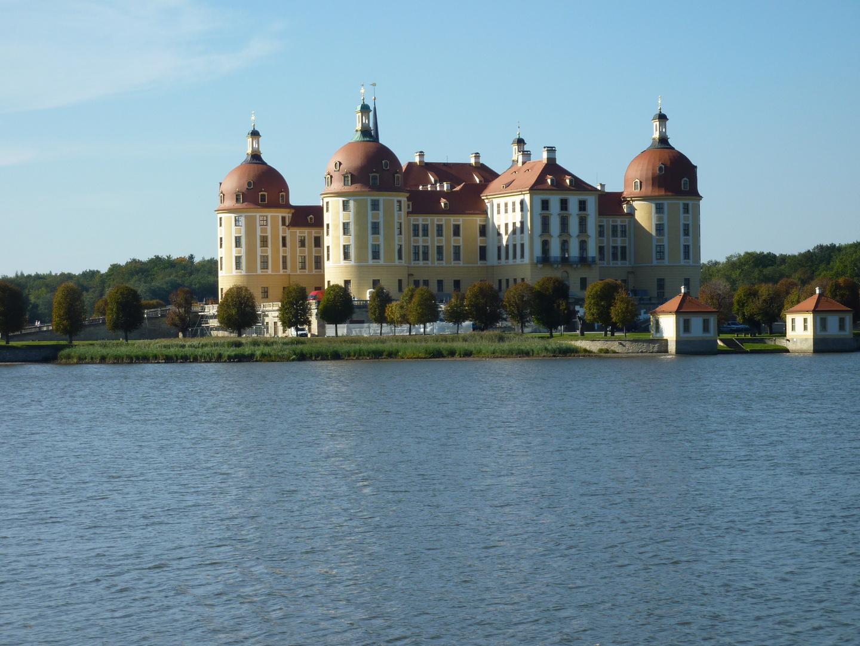 Moritzburg am Schlossteich