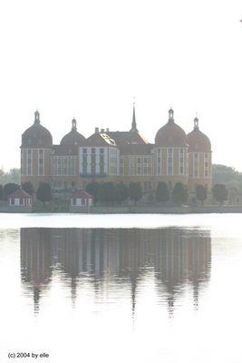 Moritzburg im Abenddunst