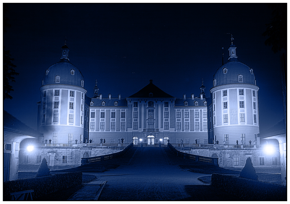 Moritzburg Nachtblau