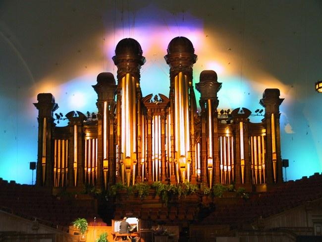 Mormon Tabernakle Organ, Salt Lake City