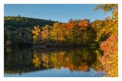 Morning at Hidden Lake
