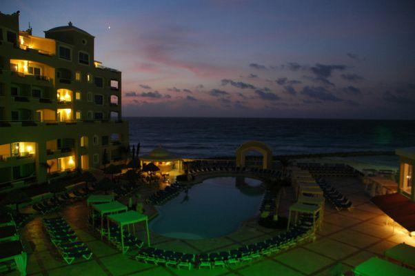 Morning in Cancun