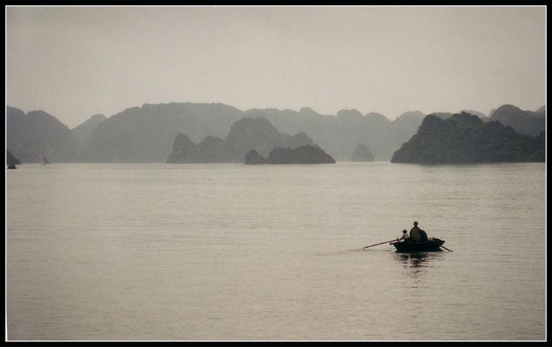 Morning in Halong Bay