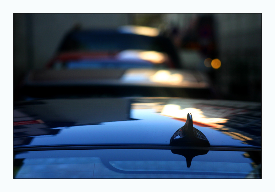 Morning Light on Parking Cars