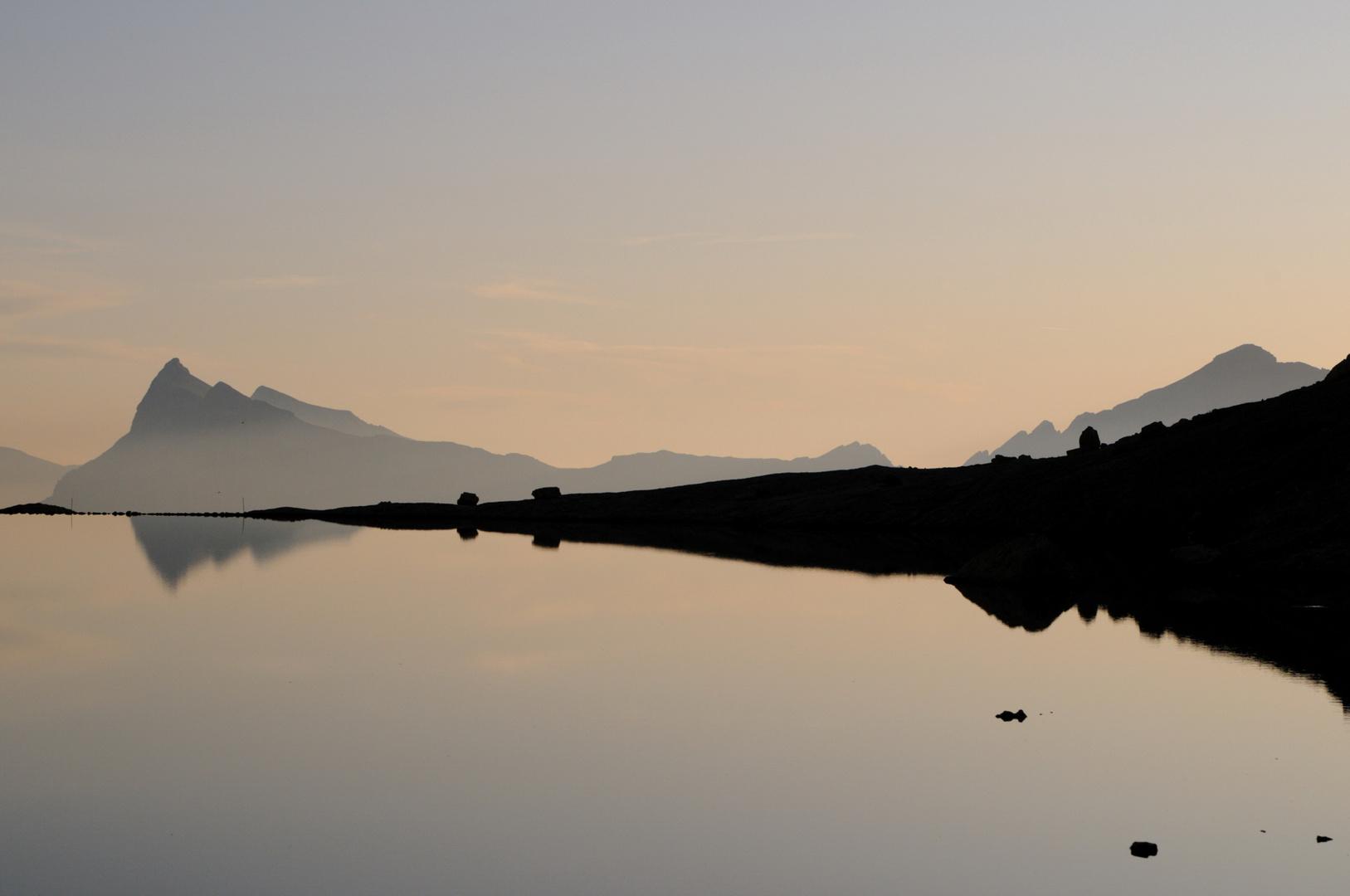 Morning on Lago Pisciadu