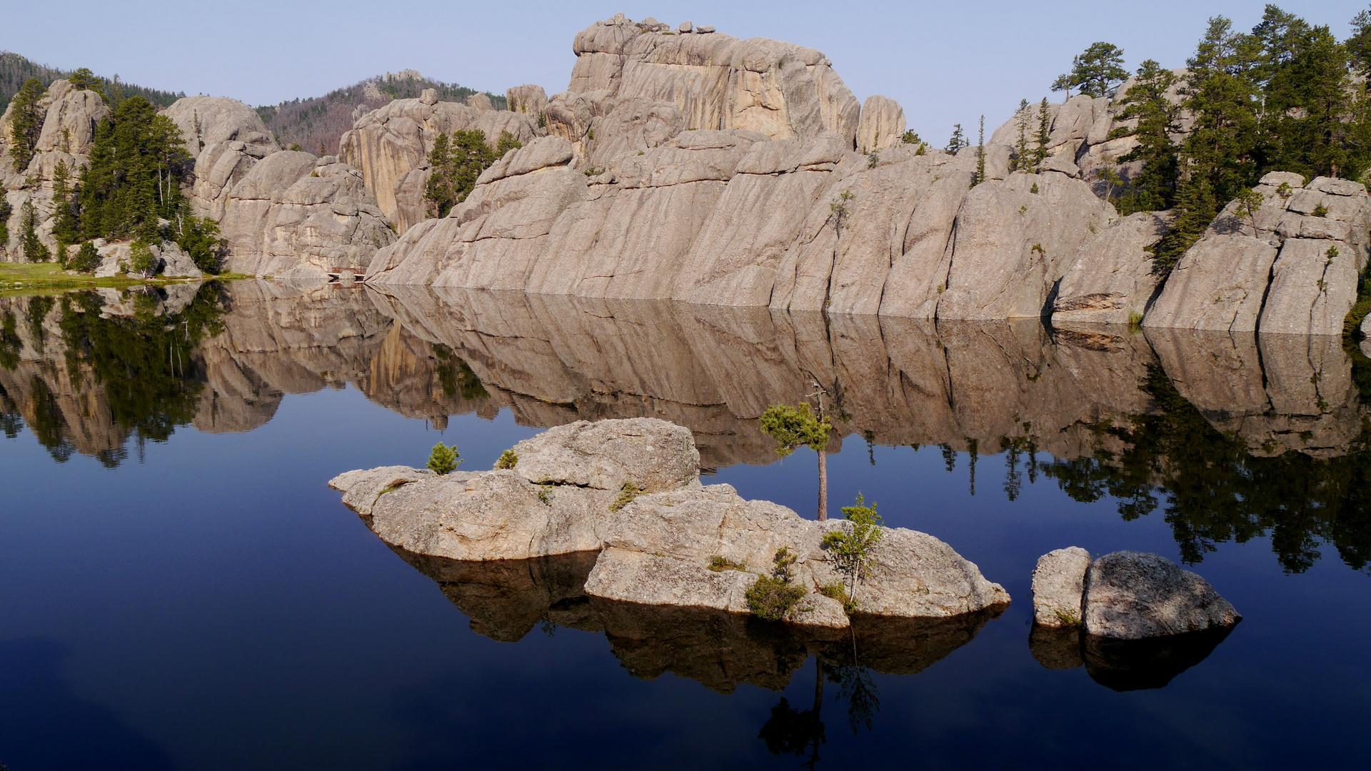 Morning Reflexions - Sylvan Lake