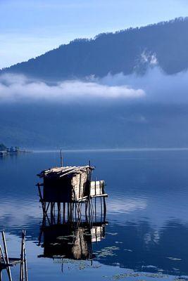 Morning Silence at Danau Beratan