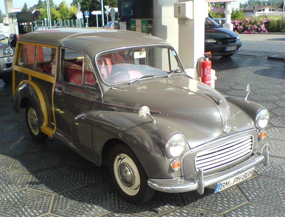 Morris Minor Bj.67 front