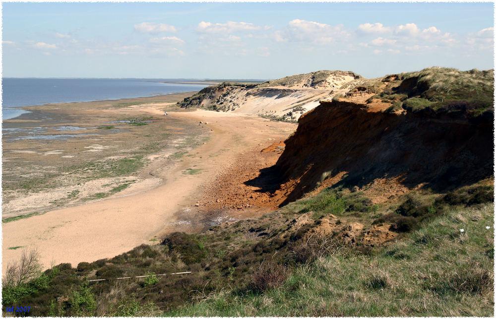 Morsum Kliff im Frühjahr