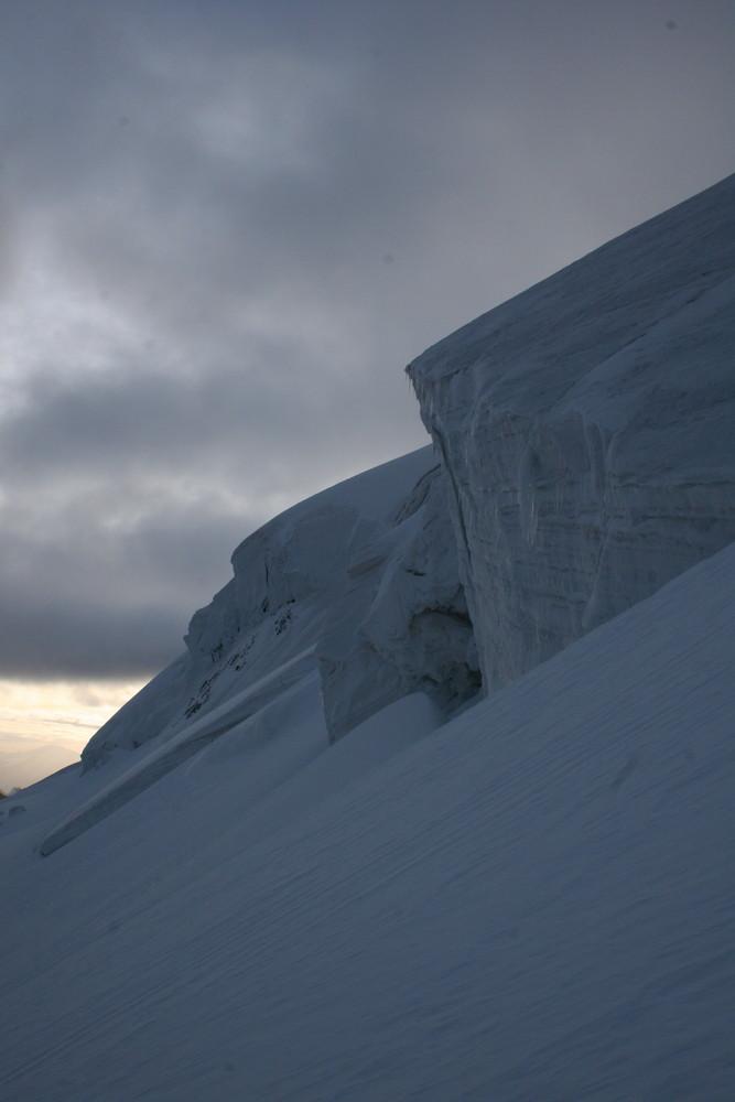 Morteratsch-Gletscher im Engadin, Schweiz