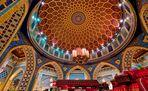 Mosaik einer Kuppel in der IBN Battuta Mall Dubai