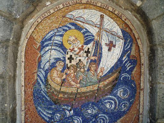 Mosaik - Hl. Nikolaus