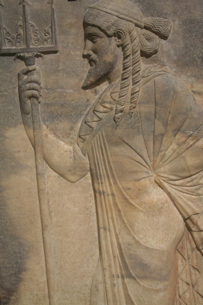 Mosaik im Archäologischen Nationalmuseum Neapel