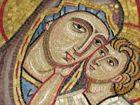 Mosaik in der ältesten Kirche Palermos (1100-1300v Ch)