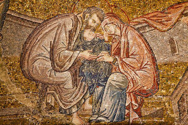 Mosaik in der Chora-Kirche