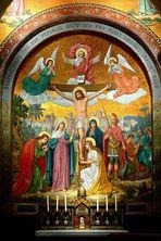 Mosaik »Kreuzigung«