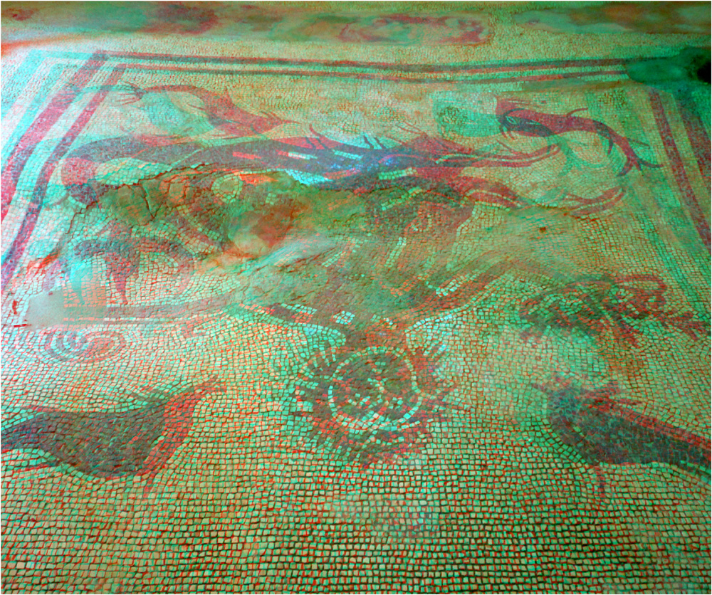Mosaikfußboden in Ercolano