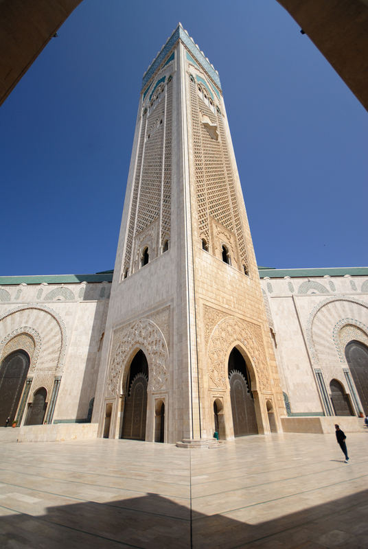 Moschea Hassan II - Il Minareto - Hassan II Mosque - The Minaret