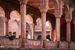 Moschee-Besucher