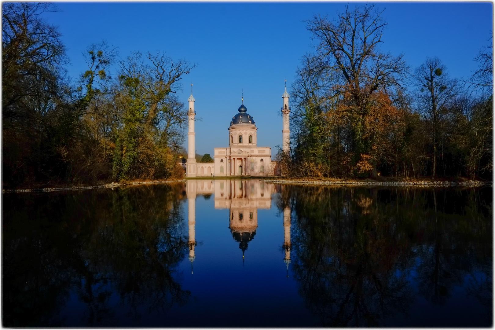 Moschee im Schlosspark Schwetzingen 2