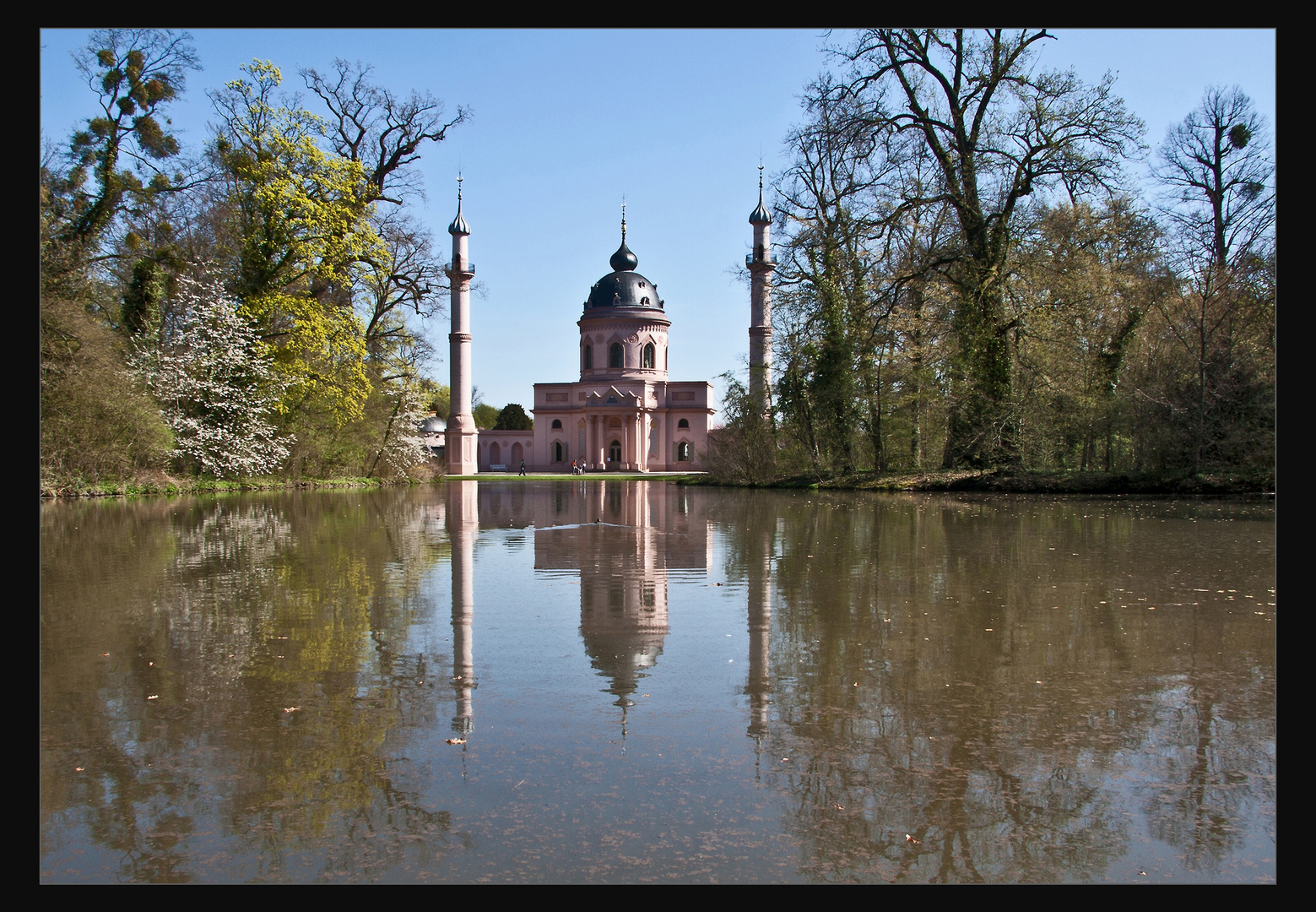 Moschee im Schwetzinger Park