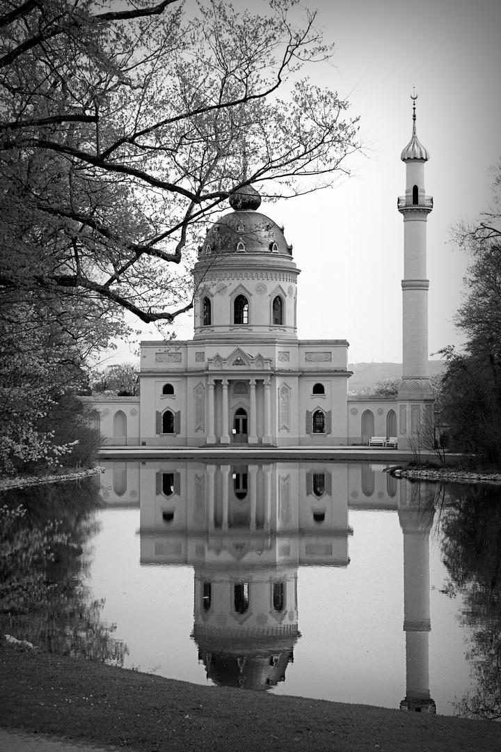 Moschee im See