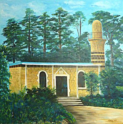 Moschee in al-Khalisa District of Safad