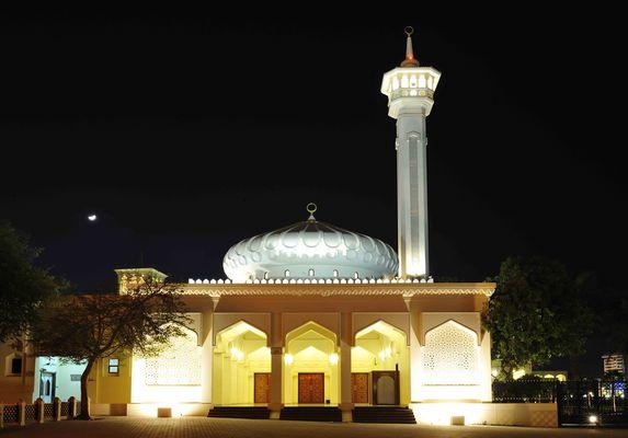 Moschee in Bur Dubai nahe dem Creek