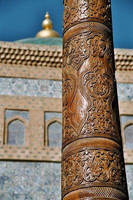 Moschee in Chiwa (Usbekistan)