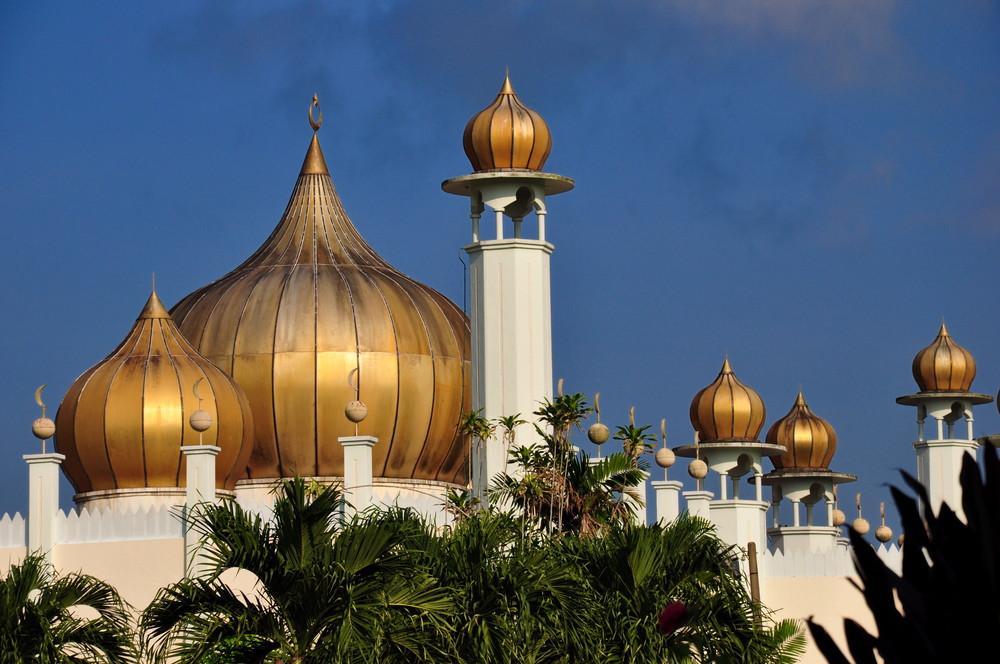 Moschee in der Morgensonne